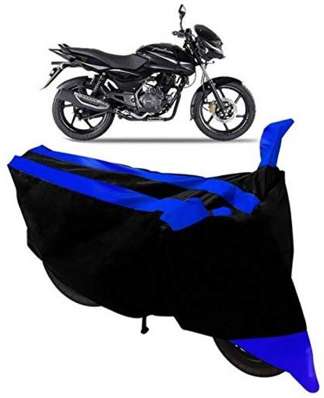 OZY Two Wheeler Cover for Universal For Bike(Blue, Black)