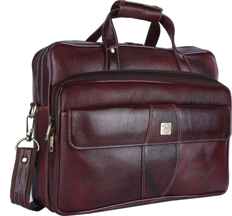 ROME HUNTERS 16 inch Inch Laptop Messenger Bag(Brown)