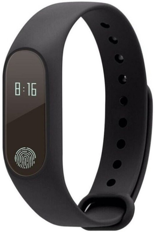 ASTOUND Bluetooth M2 Heart Rate Monitor Band(Black Strap, Size : FREE)