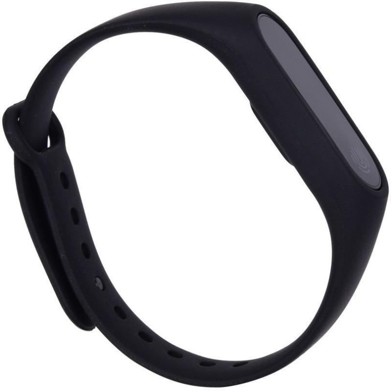 ASTOUND Hot M2 Smart Bracelet Heart Rate Monitor(Black Strap, Size : FREE)