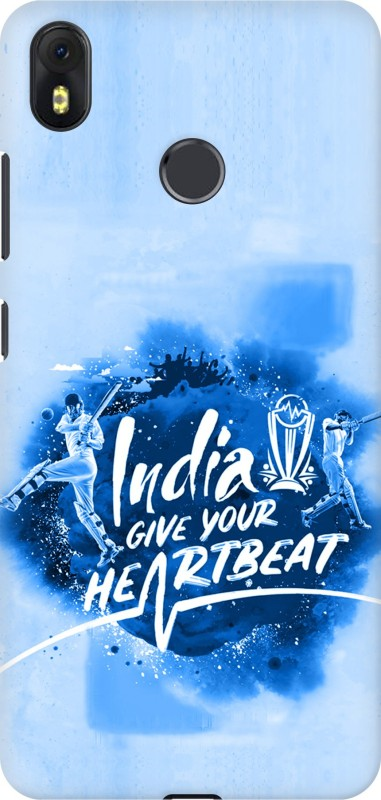 Aspir Back Cover for Infinix Hot S3(Multicolor, India Give Your Heartbeat, Hard Case)