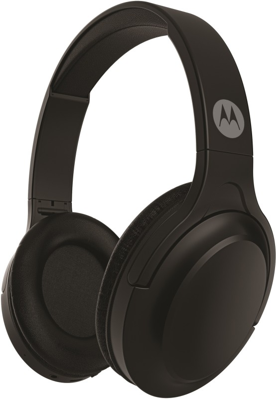 Motorola HP-BT-Moto-Escape 200 with Google Assistant Bluetooth Headset(Black, Over the Ear)