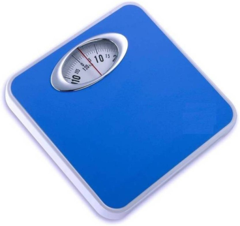 Granny Smith Analog Weight Machine Capacity 130Kg Manual Mechanical Full Metal Body Analog Weighing Scale(Blue)