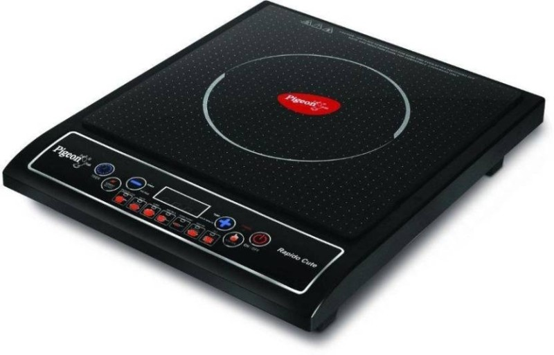 Pigeon SAP-667 Induction Cooktop(Black, Push Button)