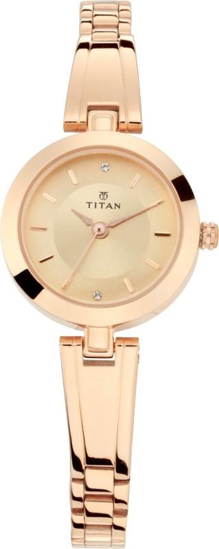 Titan 2598WM02 Ladies Karishma Analog Watch - For Women