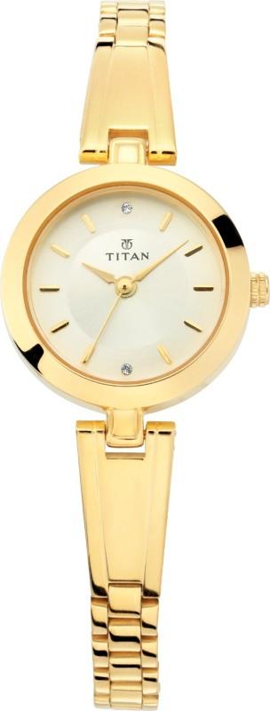 Titan 2598YM03 Ladies Karishma Analog Watch - For Women