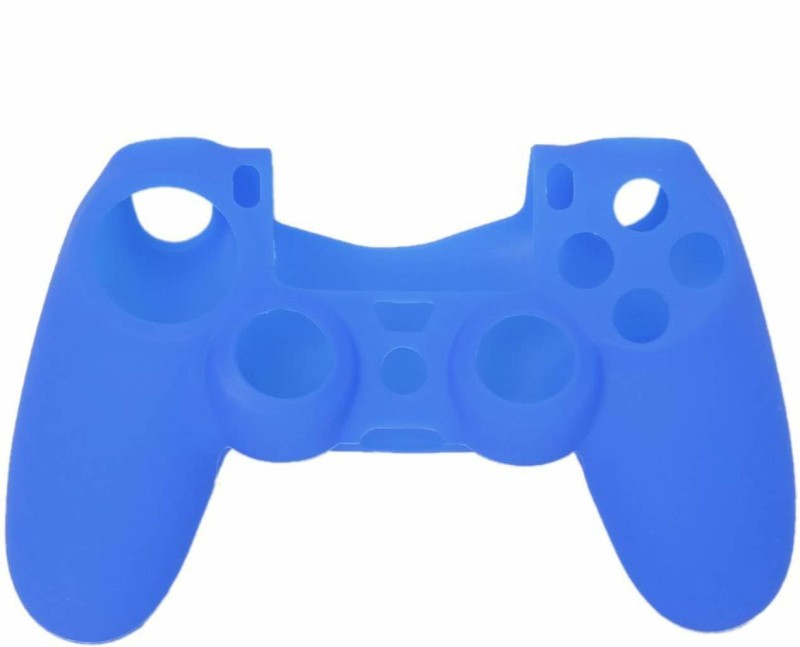 ACUTAS Pouch for Soft Silicone Case Cover For Playstation PS4 Controller(Blue, Silicon)
