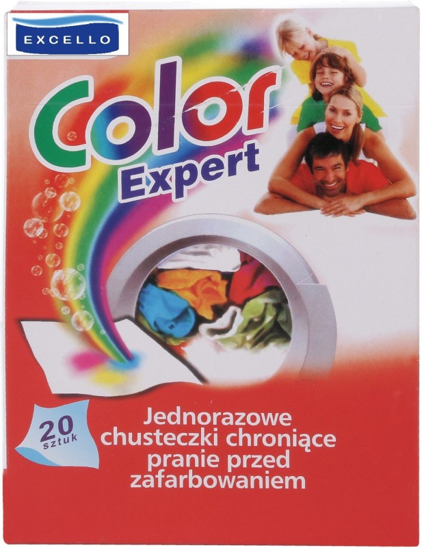 Excello Color Expert Colour Catcher Sheets(20 Sheets)