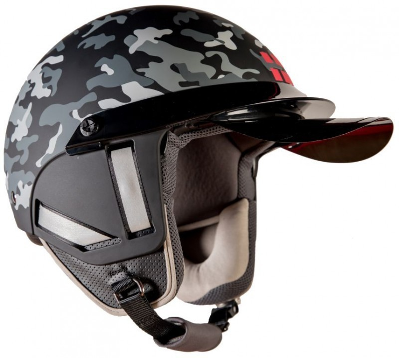 Steelbird K-1 Motorbike Helmet(Glossy Black)