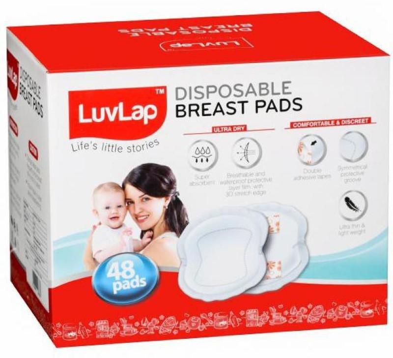 LuvLap 18476 Nursing Breast Pad(Pack of 48)