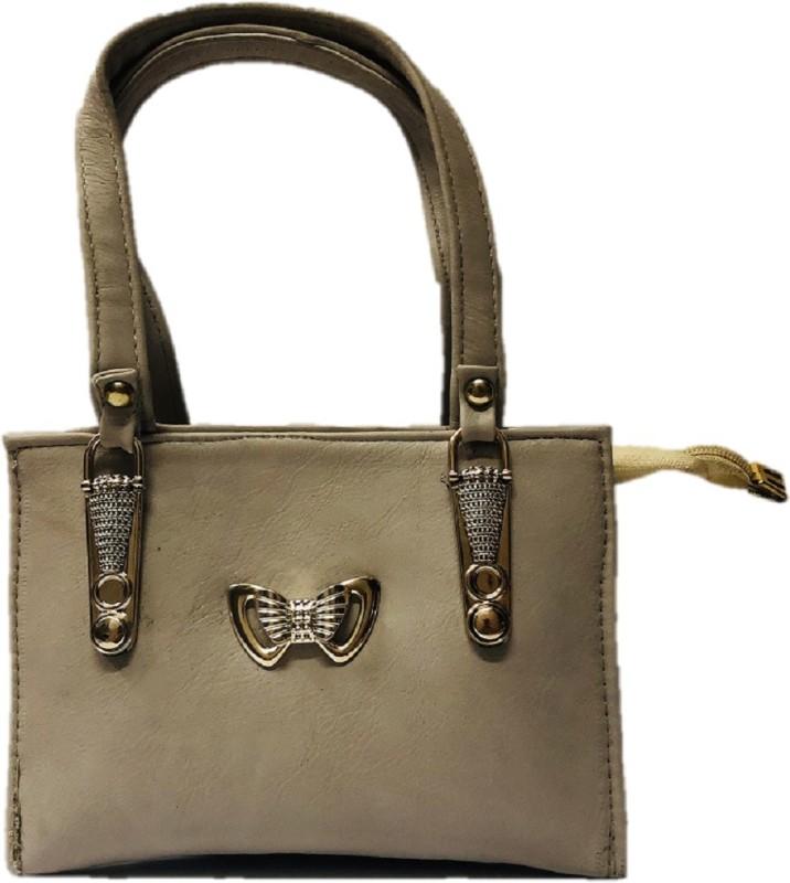 HIGH-CHOICE Women Beige Hand-held Bag