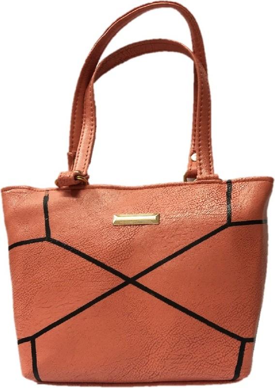HIGH-CHOICE Women Orange Hand-held Bag