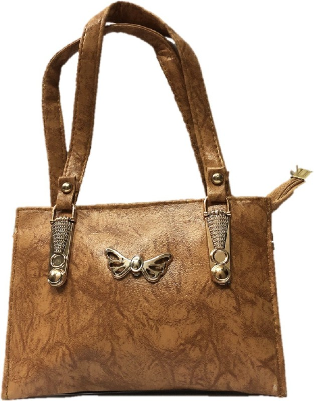 HIGH-CHOICE Women Tan Hand-held Bag