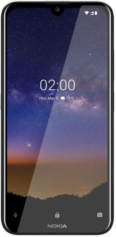 Nokia 2.2 (Black, 32 GB)(3 GB RAM)