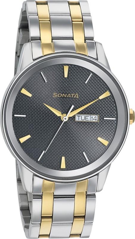 Sonata 7133BM02 Analog Watch - For Men