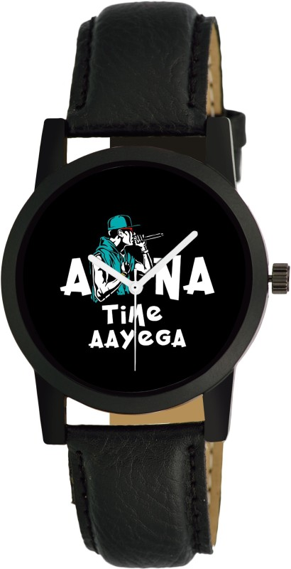 Maan International APNA TIME AYEGA Print Dial Analog Men Analog Watch - For Boys