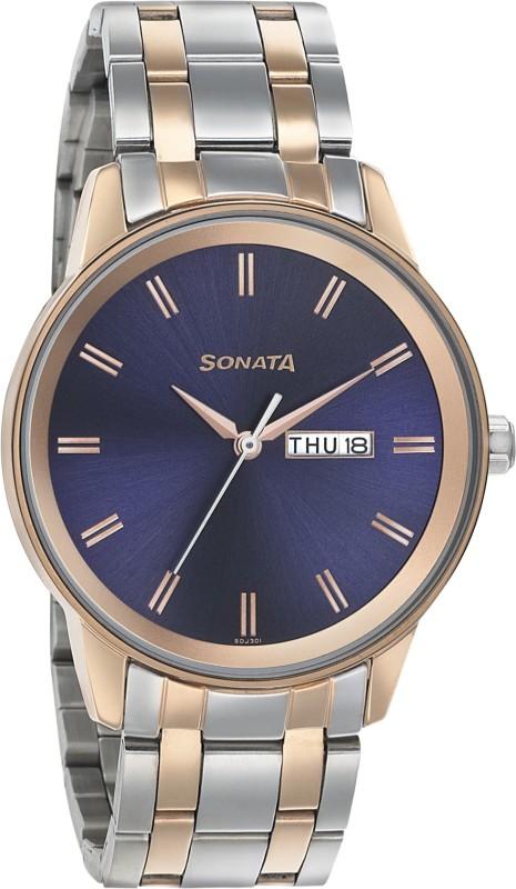Sonata 7133KM02 Analog Watch - For Men