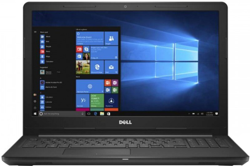 Dell Inspiron 15 3000 Core i3 7th Gen - (4 GB/1 TB HDD/Windows 10 Home) 3567 Laptop(15.6 inch, Black, 2.25 kg, With MS Office)