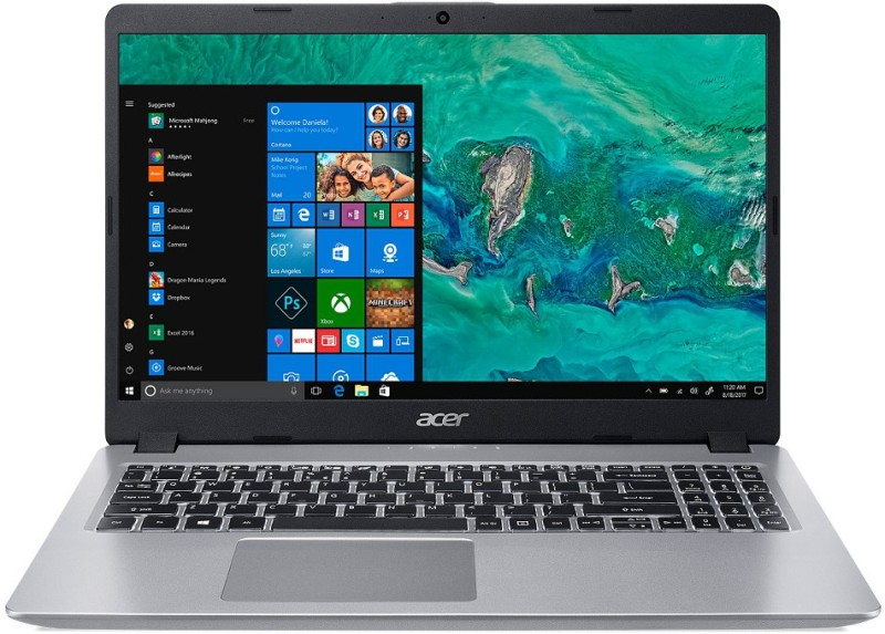 Acer Aspire 5 Core i5 8th Gen - (8 GB + 16 GB Optane/1 TB HDD/Windows 10 Home/2 GB Graphics) A515-52G-580Q Laptop(15.6 inch, Silver, 1.8 kg, With MS Office)