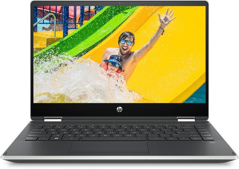HP Pavilion x360 Core i3 8th Gen - (4 GB/256 GB SSD/Windows 10 Home) 14-dh0101TU 2 in 1 Laptop(14 inch, Natural Silver, 1.59 kg, With MS Office)