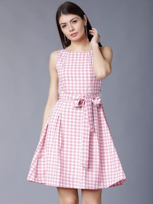 Tokyo Talkies Women Maxi Multicolor Dress