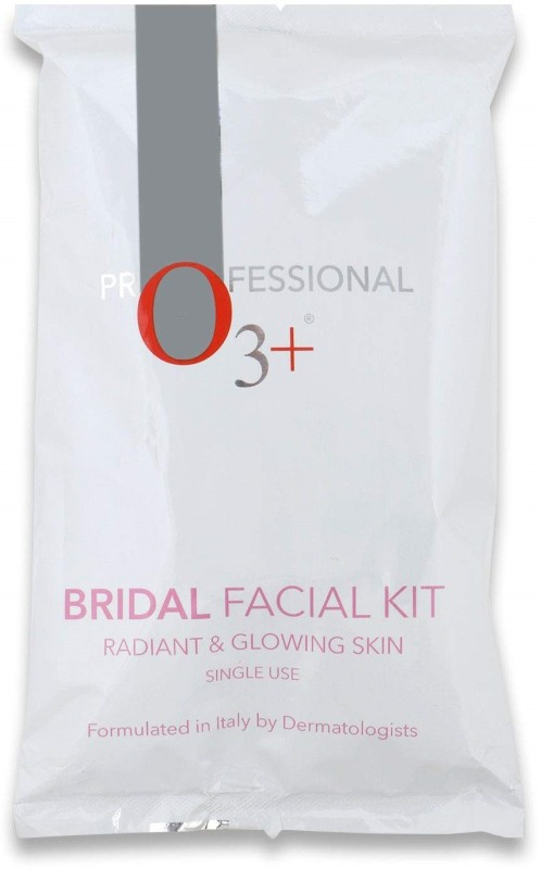 O3+ Bridal Facial Kit for Radiant & Glowing Skin - Suitable for All Skin Types(10 x 12 g)