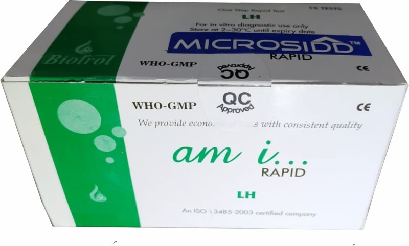 Microsidd Am-i Ovulation Kit(10 Tests)