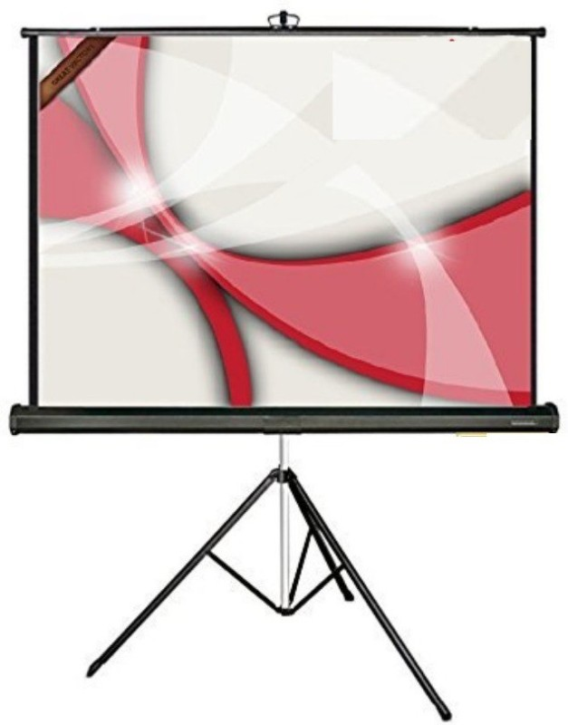 Royality tripod floor stand Projector Screen (Width 12 cm x 8 cm Height)