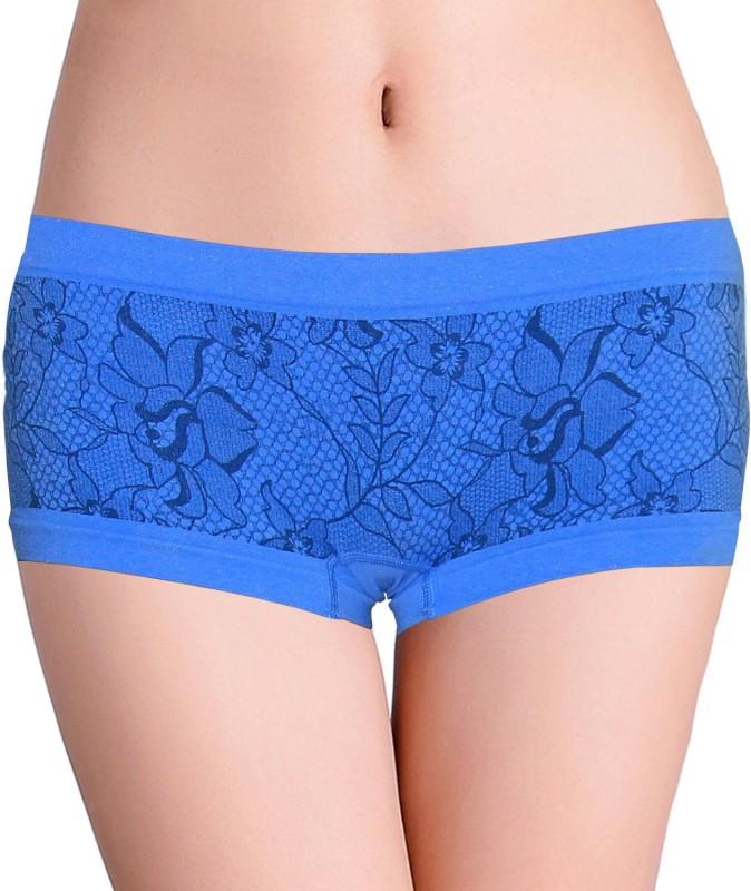 Nelkar Women Hipster Blue Panty(Pack of 1)