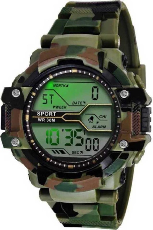 SRB ENTERPRISE SRB - AVO CHAINA Digital Watch - For Men