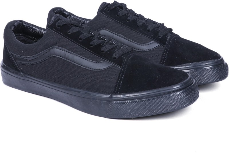 vans old skool all black womens