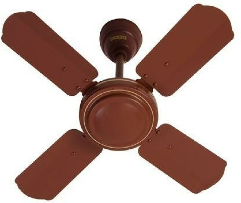 Usha STRIKER 600 mm 4 Blade Ceiling Fan(matt brown, Pack of 1)