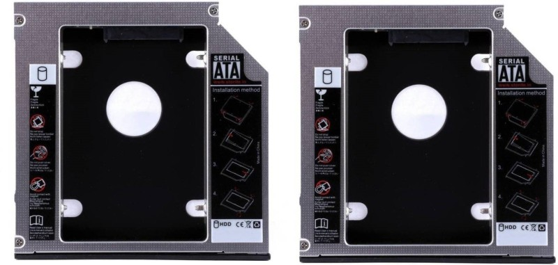 Teratech (Pack of 2) 9.5mm 2nd Hard Disk Drive Bay (For 2.5