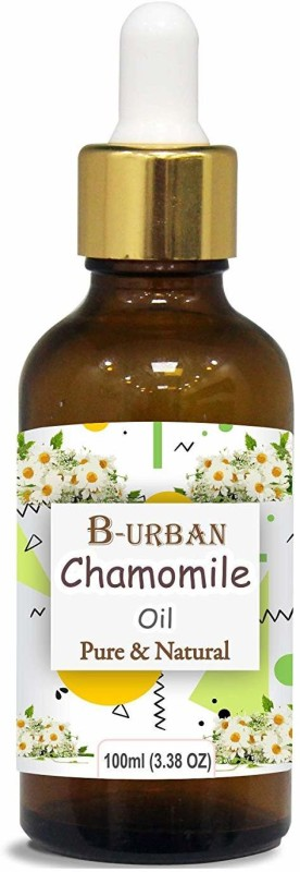 B-urban Chamomile Oil 100% Natural Pure Undiluted Uncut Essential Oil 100ml(100 ml)