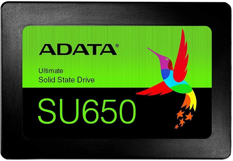 ADATA Ultimate SU650 960GB 2.5 inch SATA III 3D NAND Flash 960 GB Laptop, Desktop, All in One PC's, Surveillance Systems, Servers, Network Attached Storage Internal Solid State Drive (ASU650SS-960GT-R)