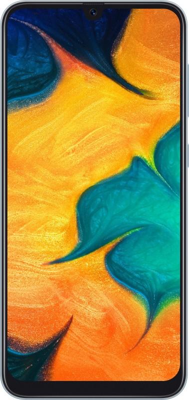 Samsung Galaxy A30 (White, 64 GB)(4 GB RAM)