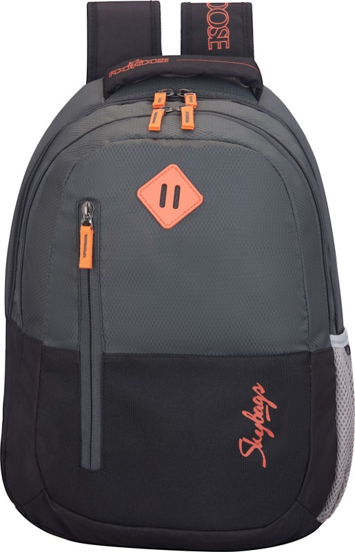 Skybags 26 L Backpack(Black, Grey)