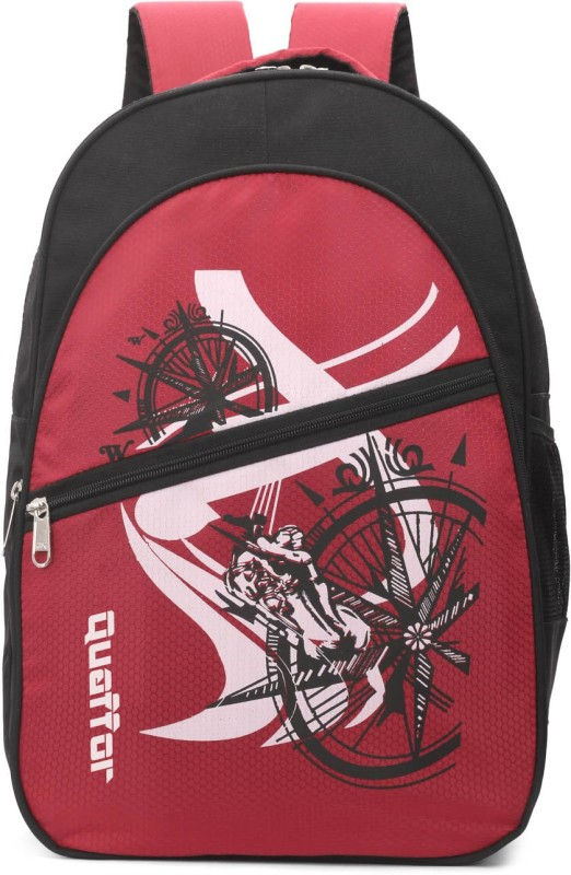 Quaffor 15.6 inch Laptop Backpack(Red, Black)