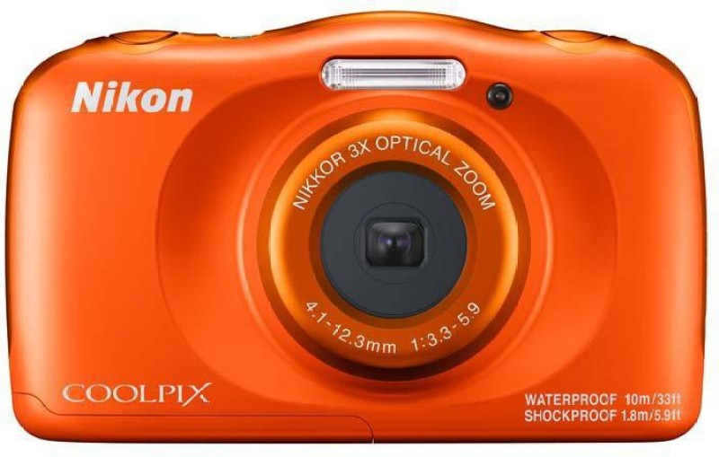 Nikon Coolpix W150(13.2 MP, 3x Optical Zoom, Upto 4x Digital Zoom, Orange)