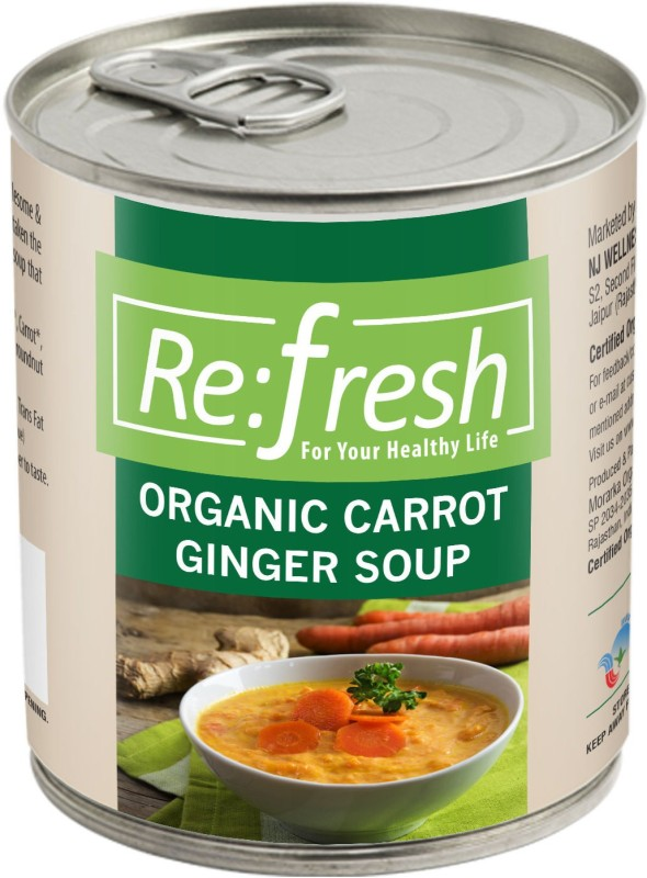 Refresh Organic Carrot Ginger Soup 400 Gm(400 g)