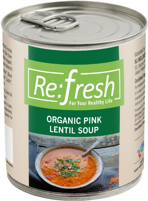 Refresh Organic Pink Lentil Soup 400 Gm(400 g)