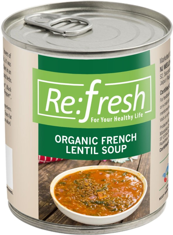 Refresh Organic French Lentil Soup 400 Gm(400 g)