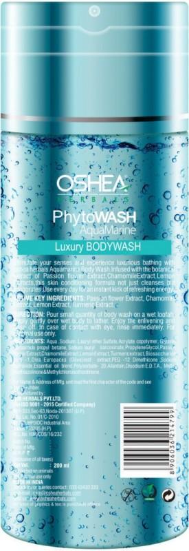 Oshea Herbals Phytowash Aqua Marine Luxury Bodywash(200 ml)
