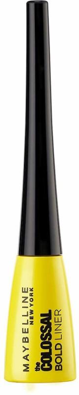 Maybelline Colossal bold Liner 3 ml(Black, Bold Black)