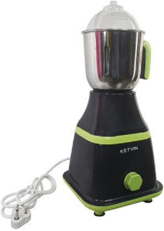 ketvin 1 kjhgfgf 1 Juicer Mixer Grinder(Black, 1 Jar)
