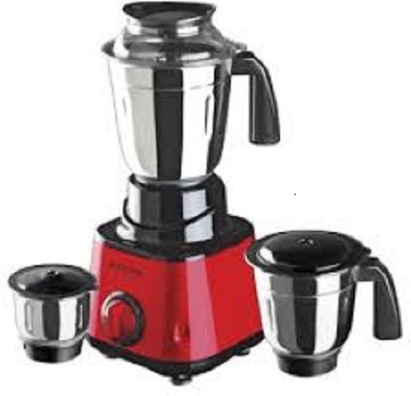 ketvin 1 jkkhghf 1 Juicer Mixer Grinder(Red, 3 Jars)