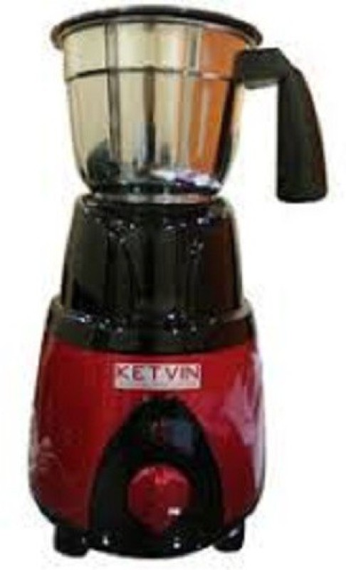 ketvin 1 jhjgf 1 Juicer Mixer Grinder(Red, 1 Jar)