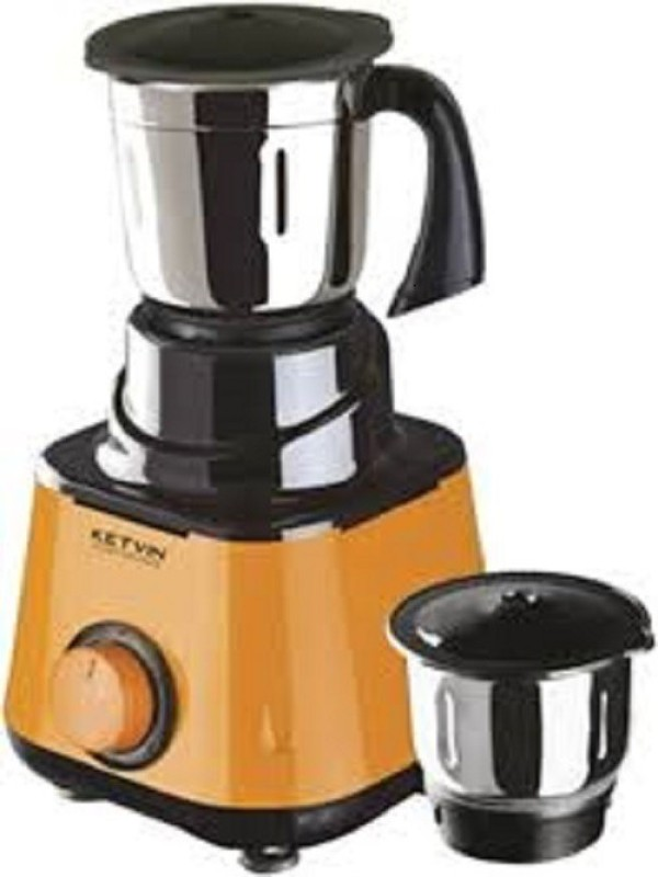 ketvin 1 kjkjhfg 1 Juicer Mixer Grinder(Yellow, 3 Jars)