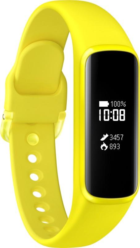Samsung Galaxy Fit e Smart Band(Yellow Strap, Size : Regular)