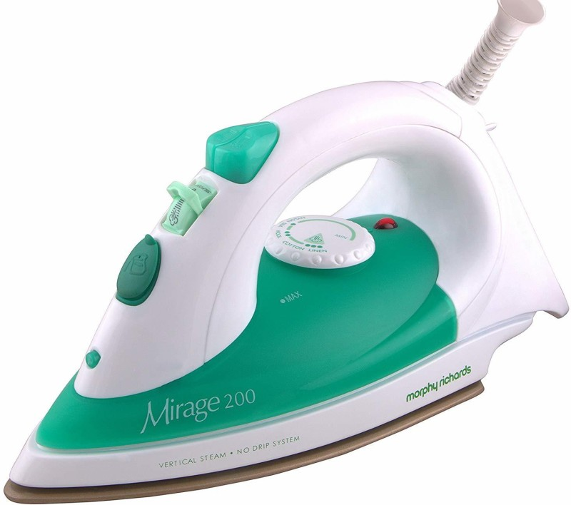 Morphy Richards steam iron morphy richards-03 1250 W Steam Iron(Red, White)